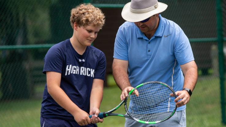 Boys Camp Tennis