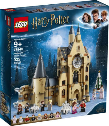 Harry Potter Lego Packaging showing the design of the legos.