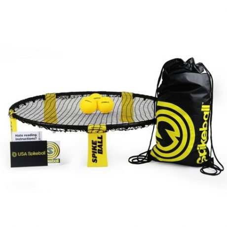 spikeball set and balls